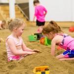 Children enjoying The Sandbar