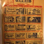 The Lyric Theater Memorabilia