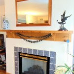 Fireplace with Handmade Mantel