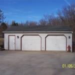 2.5 Car Detached Garage