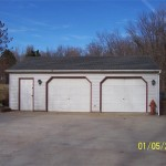 2.5 Car Detached Garage