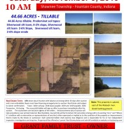 LAND AUCTION – Saturday, November 9, 2019 – 10AM