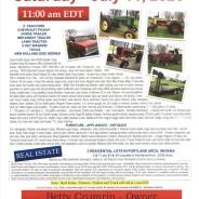 PUBLIC AUCTION – Saturday, July 11, 2020 11:00am EDT