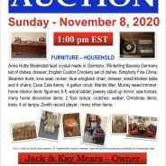 Sunday, November 8, 2020 @ 1:00 pm EST