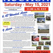 Estate Auction on May 15, 2021