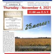 LAND AUCTION: Thursday, November 4, 2021
